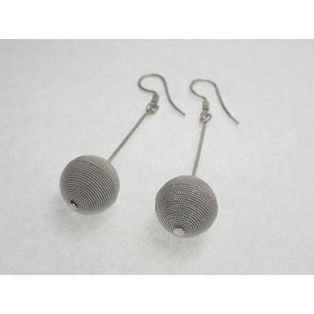 Orecchini filigrana in argento, filo argento