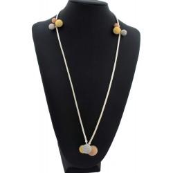Collar joya de Cerdeña con bolas de filigrana
