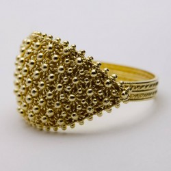 Engagement Ring - Ring Sardinia, gold, 5 wires