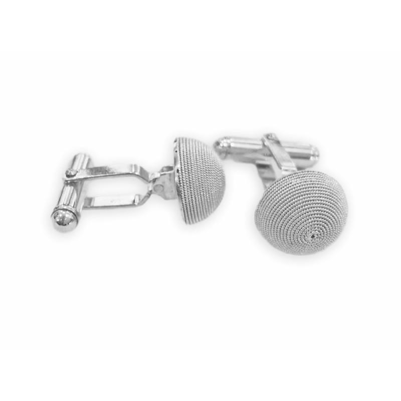 design senza tempo 0d19c c3232 Gemelli uomo, argento realizzati in filigrana sarda
