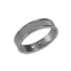 anillo de los hombres - filigrana de plata