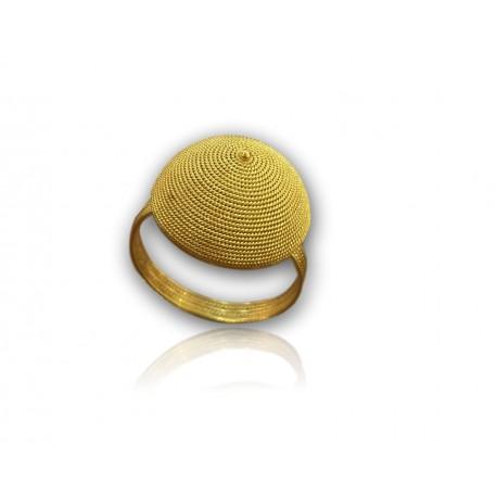 Anello corbula dorato