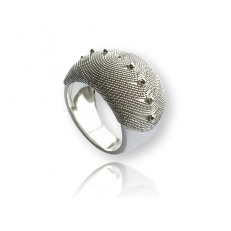 Band Ring Silver | Woman Rings