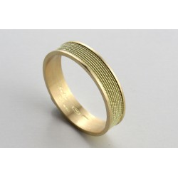 Traditional Sardinian wedding ring for men