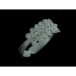 Fede sarda ring white gold rhodium-plated