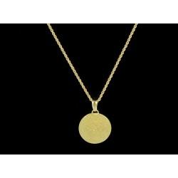 Ciondolo gioiello sardo corbula filigrana oro 750
