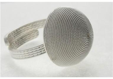 anneaux en filigrane